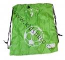 Sáček na boty a oblečení Football- zelený 7