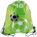 Sáček na boty a oblečení Football- zelený 10