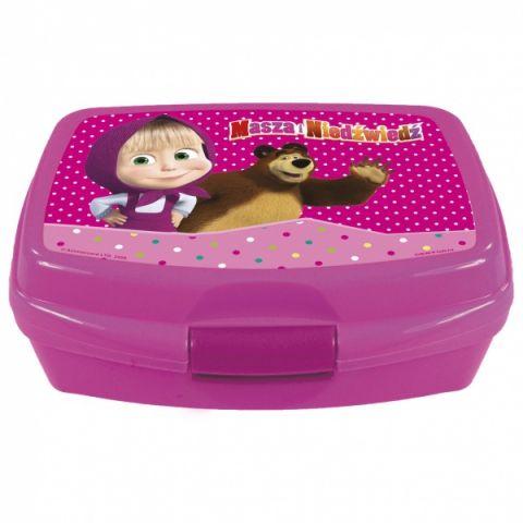 Svačinový box Máša a Medvěd, krabička na svačinu Disney