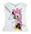 Tričko krátký rukáv Minnie - bílé