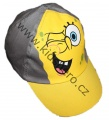Kšiltovka SPONGE BOB - žluto-šedá