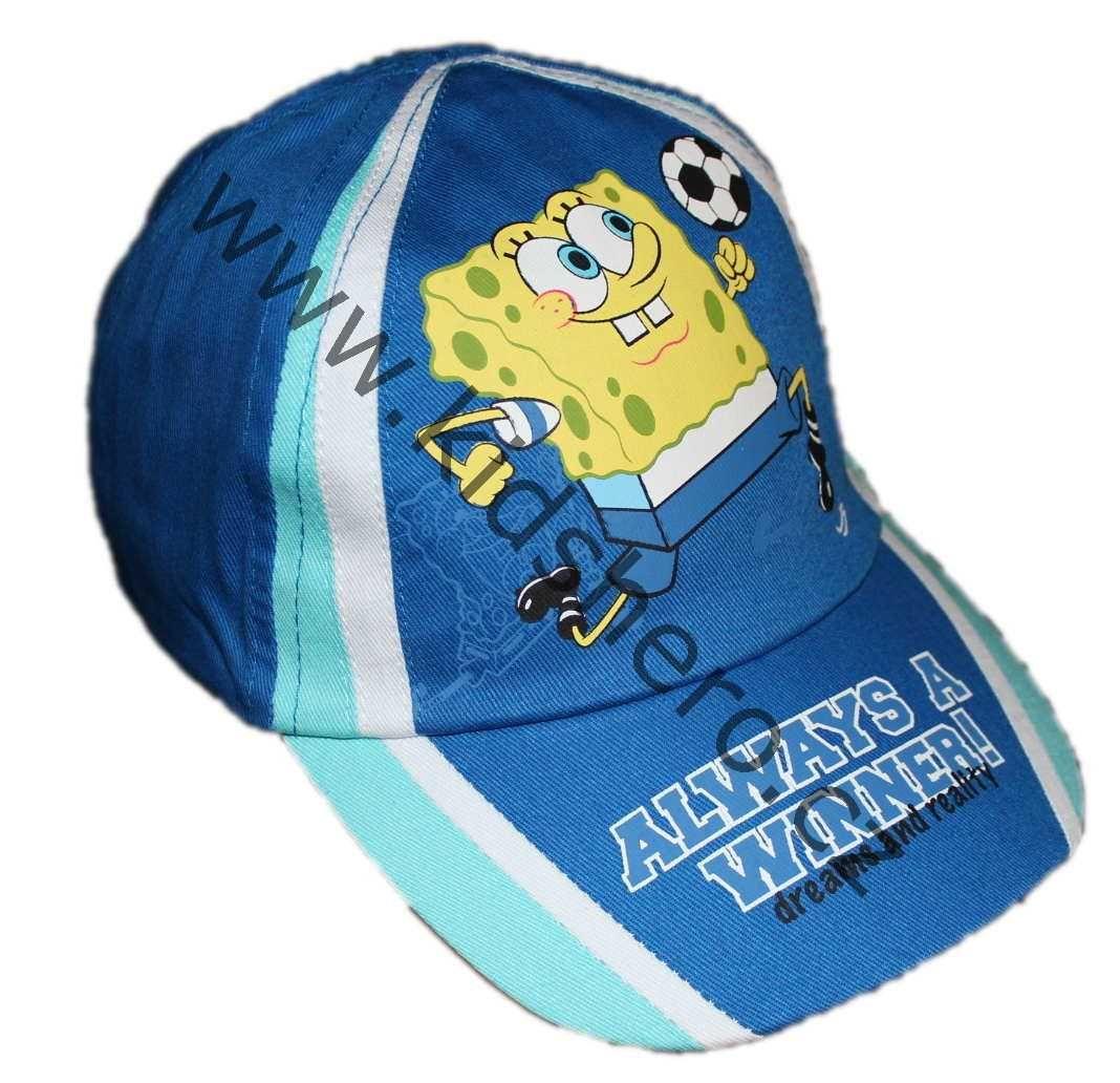 Čepice SPONGE BOB, dětská kšiltovka Sponge Bob, chlapecká kšiltovka Nickelodeon