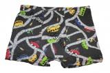 Bavlněné boxerky s auty - černé 2