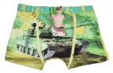 Bambusové boxerky - s tankem - žluté