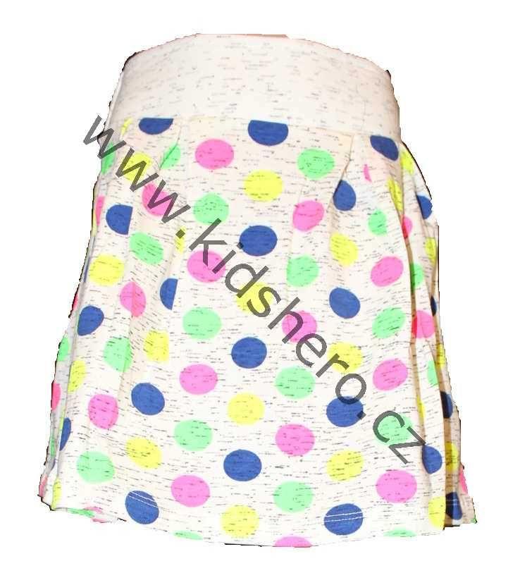 Dětská bavlněná sukně, dívčí bavlněná sukně, sukýnka Joe&Jolly