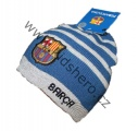 Čepice FC Barcelona - sv.modro-šedá