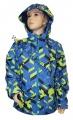 Šusťáková bunda KUGO - modro-zelená - velká