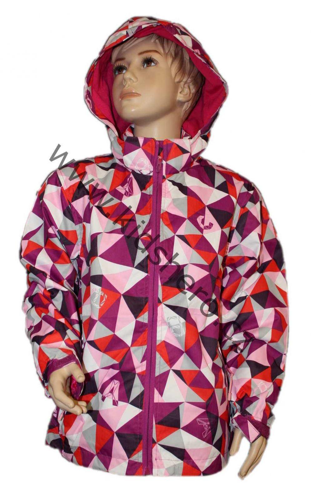 Dětská šusťáková bunda KUGO, nepromokavá dětská bunda