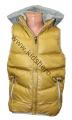 Dětská vesta - žluto-hnědá