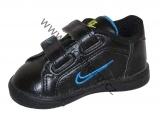 Dětské boty, sportovní boty NIKE - černo-modré