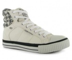 Dětské kotníkové boty BK - BRITISH KNIGHTS-bílo-šedé