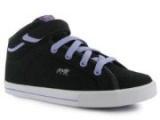 Dětské kotníkové boty, sportovní boty LONSDALE- černo-fialové
