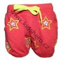 Dívčí kraťasy - GRACE - červené - hvězdy
