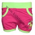 Dětské kraťasy - GRACE - růžovo-zelené