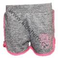 Dívčí sportovní kraťasy - KUGO - šedo-růžové velké