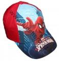 Kšiltovka SPIDERMAN -červeno-modrá