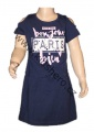 Dětské bavlněné šaty KUGO -  modré