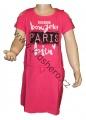 Dětské bavlněné šaty KUGO -  růžové