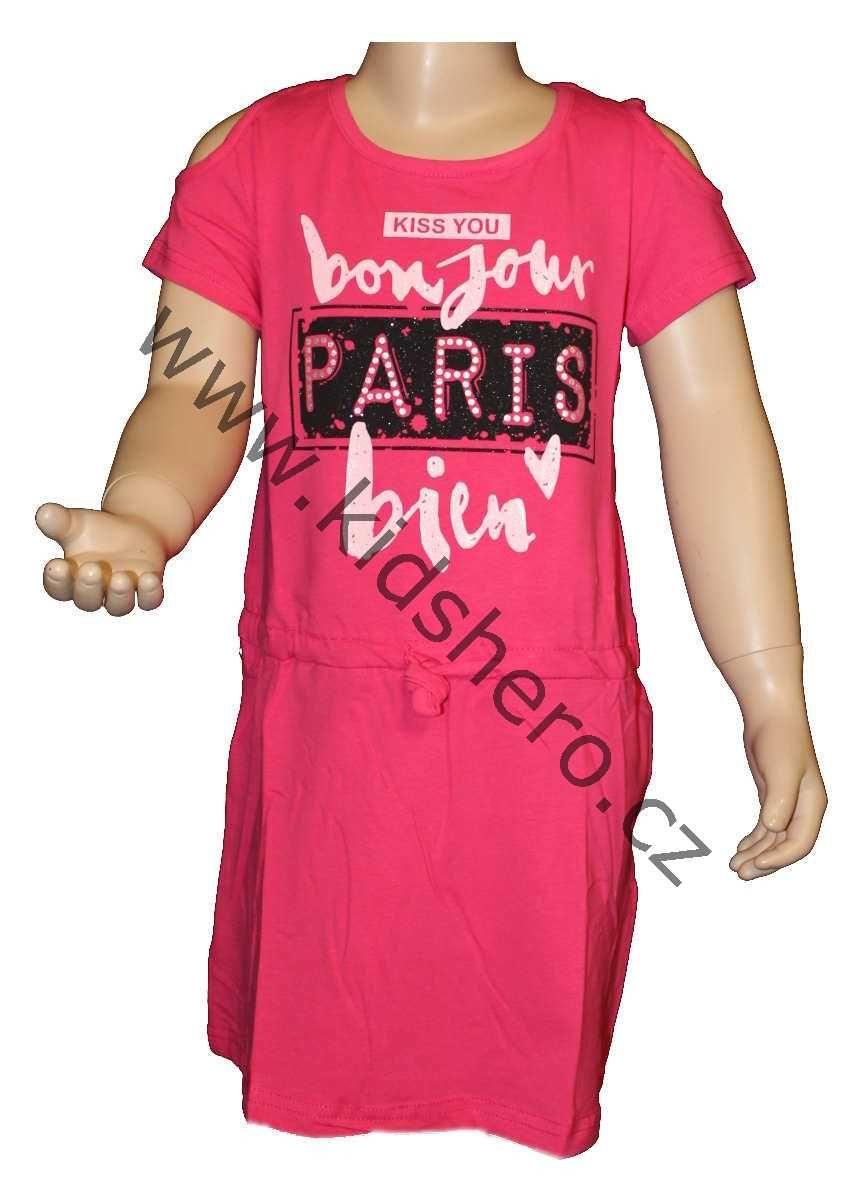 Dívčí šaty KUGO, dětské šaty, bavlněné šaty, sportovní šaty