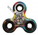 SPINNER - FIDGET - kovový - barvený - lebky