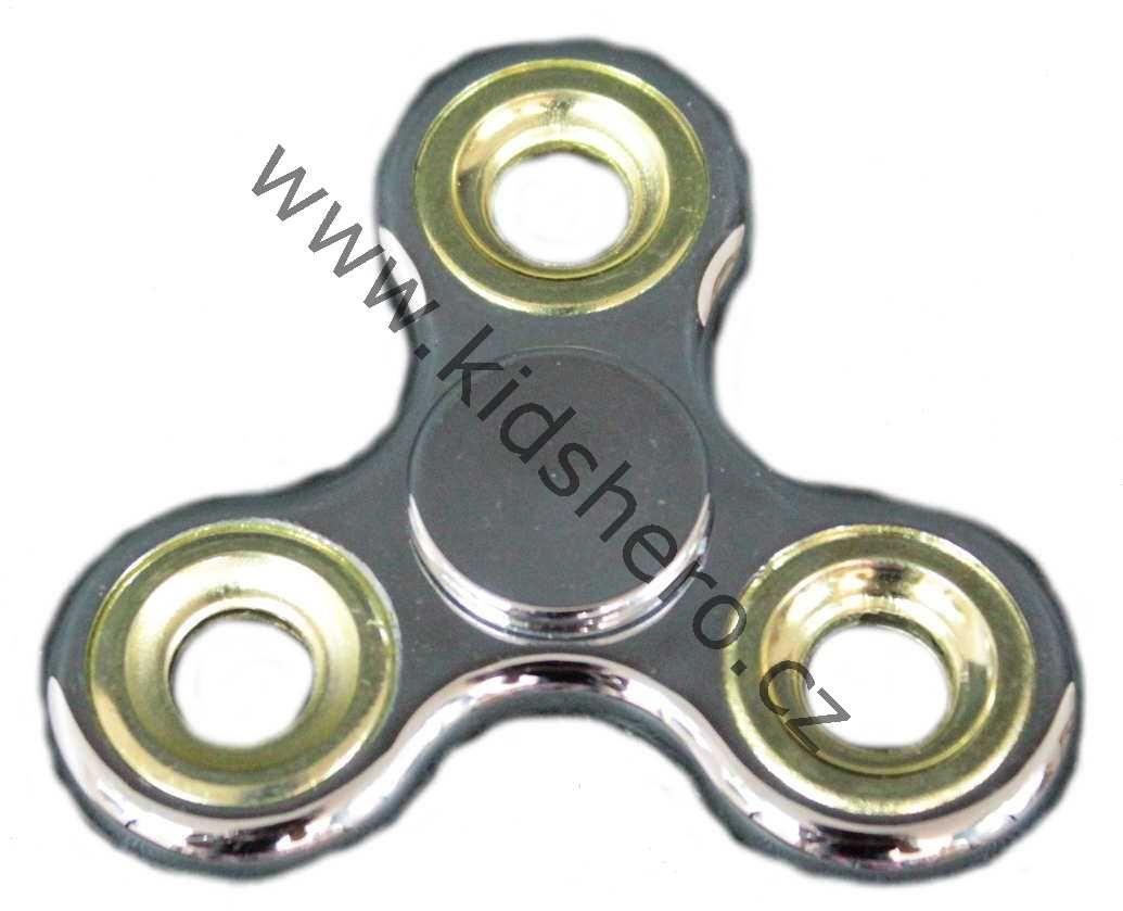 SPINNER, FIDGET hračka, spinner stříbrný