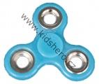 SPINNER - FIDGET - svítící - modrý