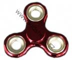 SPINNER - FIDGET - červený - metalíza