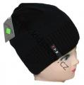 Dětská zimní čepice - černá