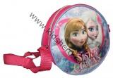 Dětská kulatá kabelka FROZEN  - růžovo-fialová