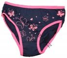 Dívčí bavlněné kalhotky - růžové