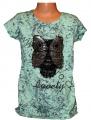 Dětské měnící tričko, měnící tunika, dívčí tričko s měnícím obrázkem, měnící tričko s flitry