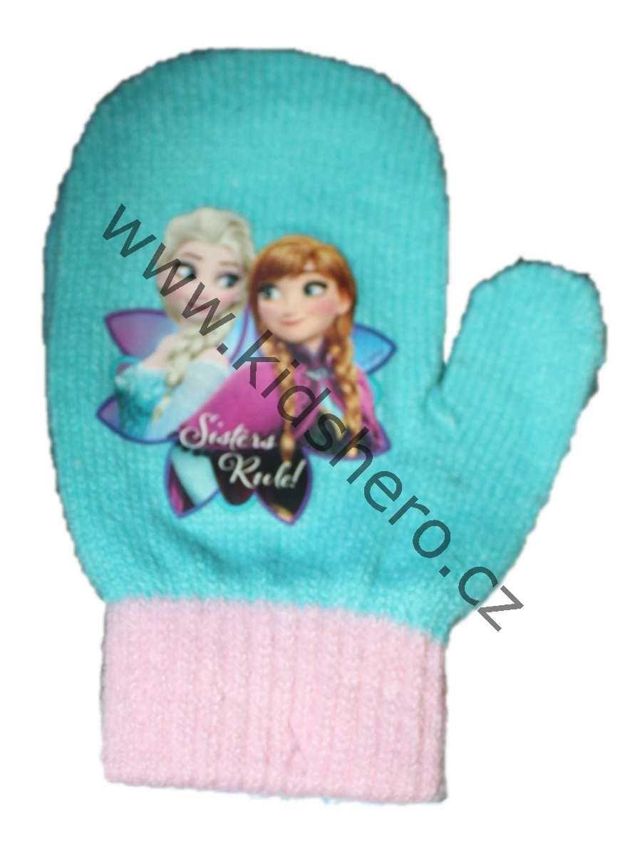 Dětské rukavice palčáky FROZEN, dívčí rukavice, dětské palčáky disney