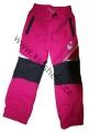 Zateplené šusťákové kalhoty KUGO  - malé - růžové