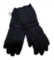 Dětské zimní, lyžařské rukavice - prstové - tm.modré - rozepínací