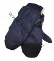 Dětské zimní rukavice - palčáky- tm.modré