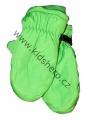 Dětské zimní rukavice - palčáky- zelené