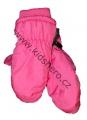 Dětské zimní rukavice - palčáky- růžové
