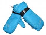 Dětské zimní rukavice - palčáky - modré