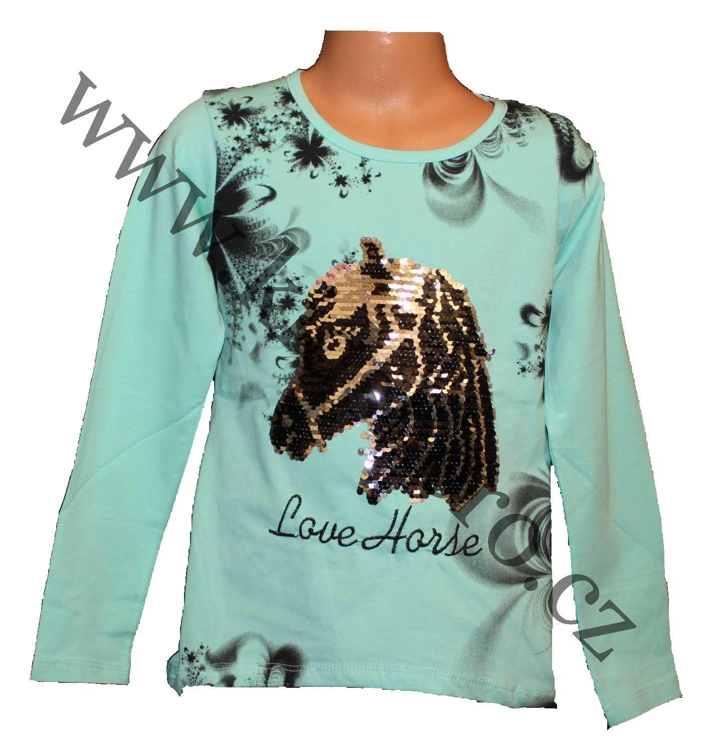 měnící tričko, měnící triko, přeměňovací tričko, měnící obrázek, tričko s flitry