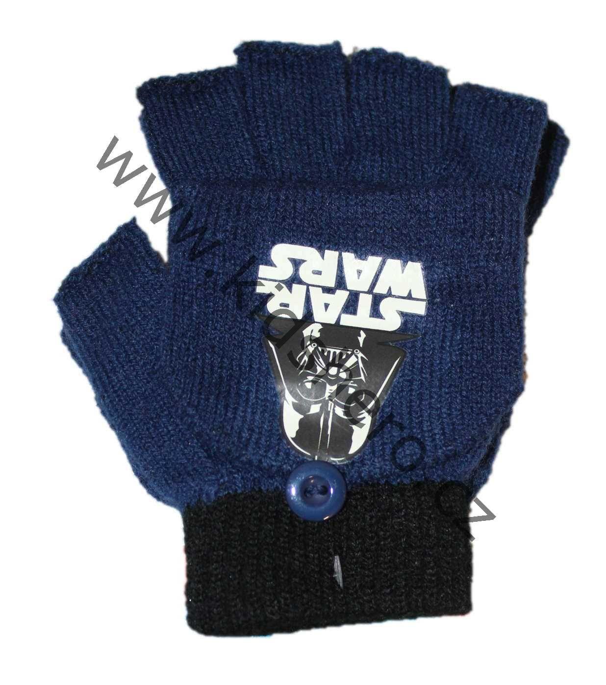 PRSTOVÉ RUKAVICE se zakrytím, dětské prstové rukavice Disney