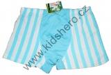 Bambusové boxerky - pruhy - sv.modré