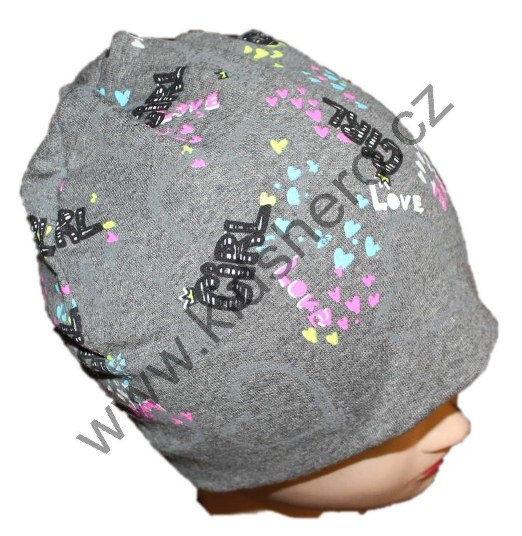 dětská bavlněná čepice, jarní čepice, chlapecká čepice