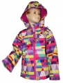 Jarní softshellová bunda - barevná - vzory
