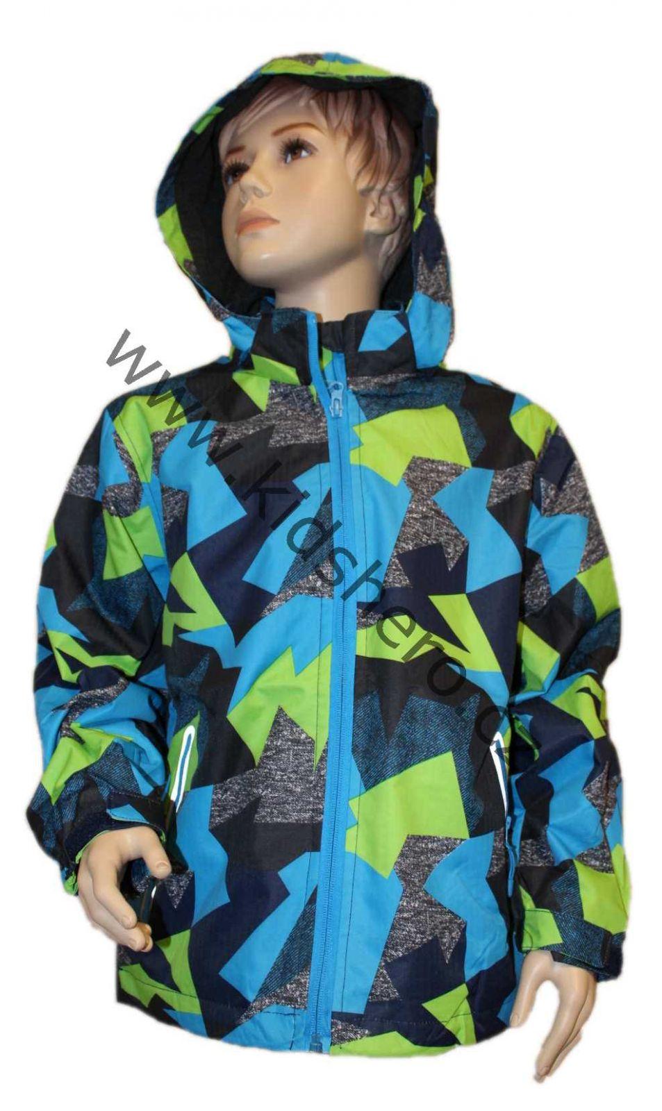 Dětská jarní softshellová bunda KUGO, dívčí softshellová bunda, chlapecká softshellová bunda, jarní bundy, podzimní bunda