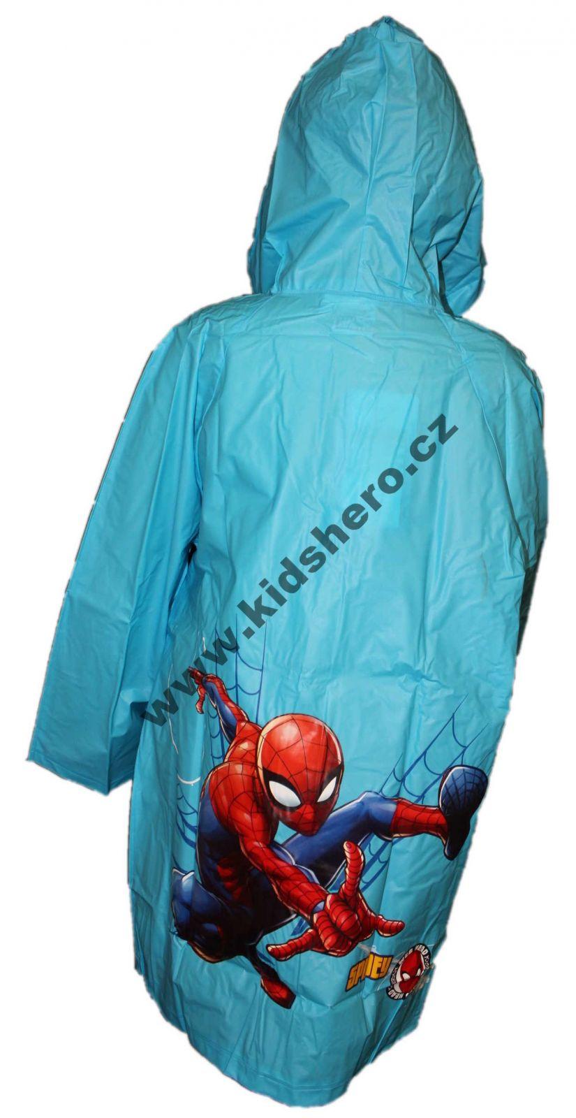 Dětská pláštěnka SPIDERMAN chlapecká licenční pláštěnka Disney