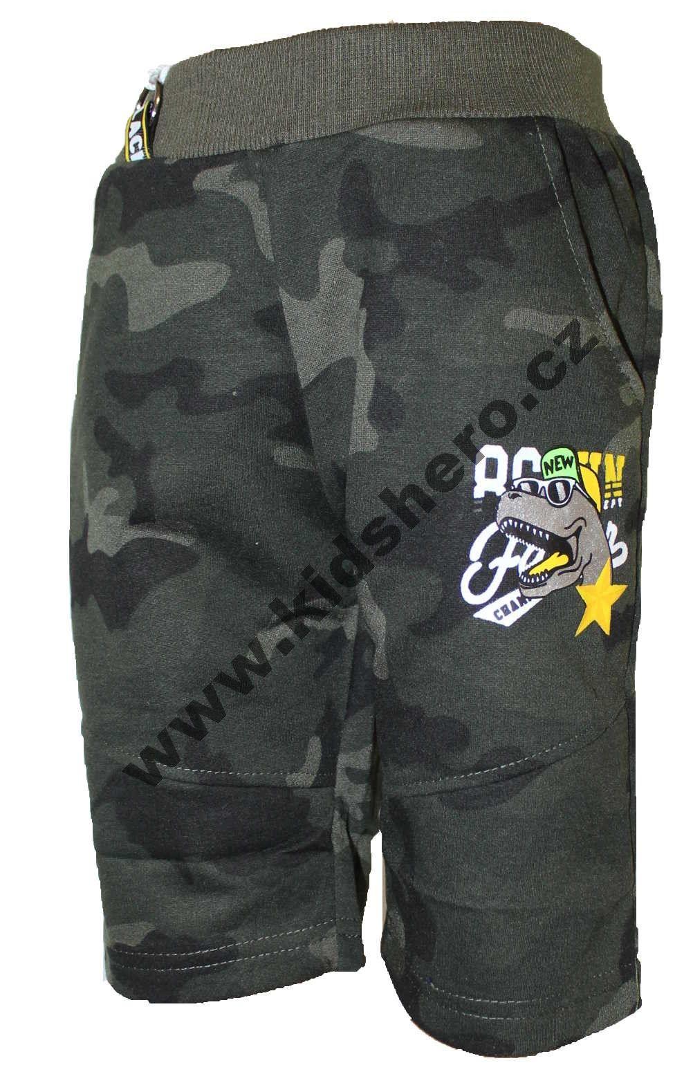 Dětské maskáčové kraťasy chlapecké army kraťasy dětské army šortky GRACE