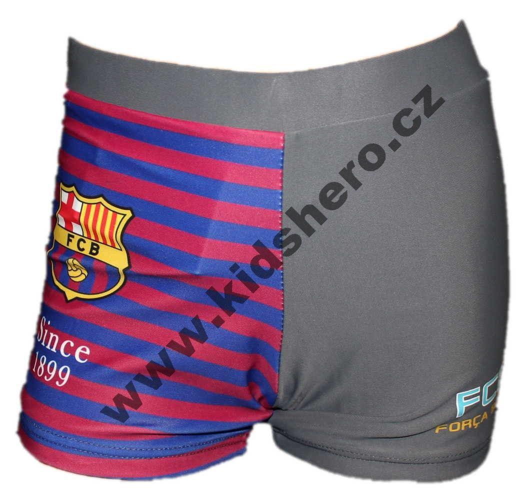 Dětské plavky FC BARCELONA chlapecké boxerky