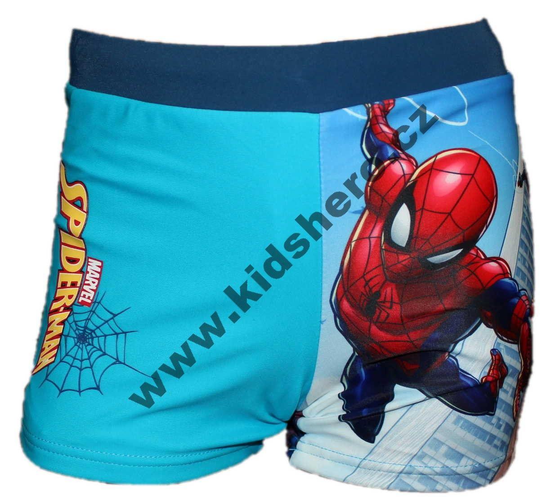 Dětské plavky SPIDERMAN chlapecké boxerky Marvel