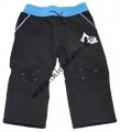 Softshellové kalhoty KUGO - pro nejmenší - černo-modré