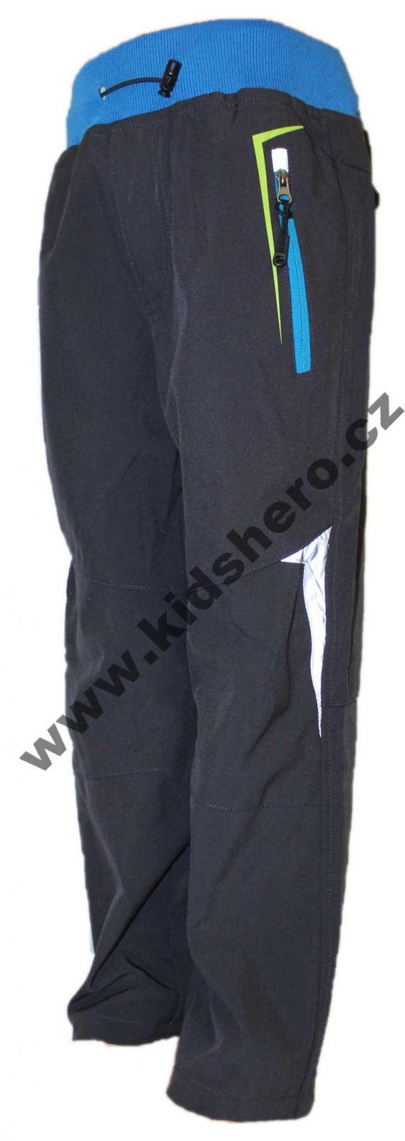 Dětské softshellové kalhoty KUGO, jarníkalhoty, podzimní kalhoty, podzimní kalhoty